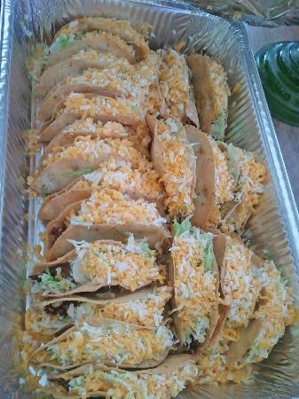 Mi Patio Mexican Food: 20 Beef Tacos To Go