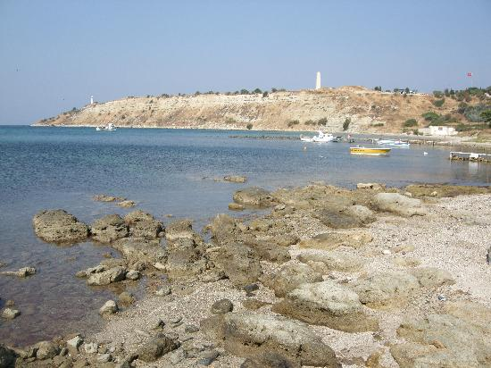 V Beach at Helles - Picture of Gallipoli National Park ...