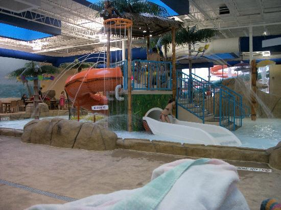 Quality Inn & Suites Palm Island Indoor Waterpark: Tube slides