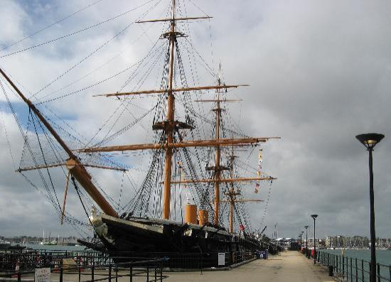 HMS Warrior 1860: Warrior - rescued