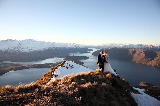 Riverview Terrace: Just married on the mountain