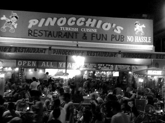 Pinocchio's Restaurant&Fun Pub: party night