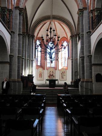 Steeg Annakirche: Interior