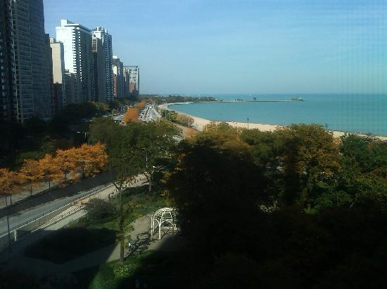 The Drake, A Hilton Hotel: View from Room 540, The Drake Chicago
