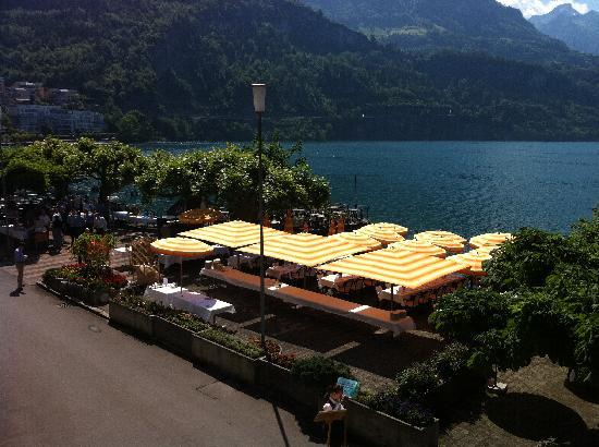 Seehotel Waldstätterhof Brunnen: Terrace, culinary expeditions
