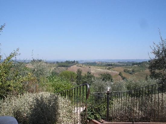 Guardastelle Vineyard: View