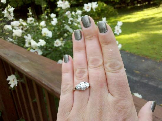 Mountain Horse Farm B&B and Wellness Retreat: My Ring!!!!