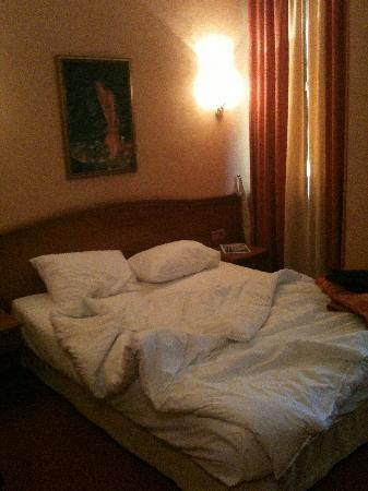 Tatiana Hotel : Cozy bed with duvet - Slept great and often