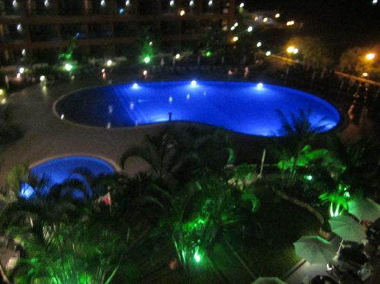 Enotel Lido Madeira: View from Balcony at Night