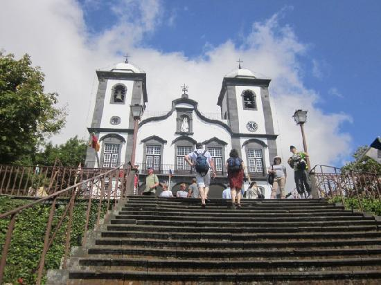 Enotel Lido Madeira: Church at top of cable car ride (Must see)