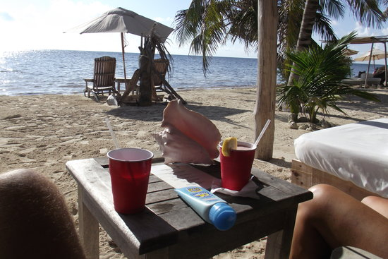 Mahahual, Meksiko: Relaxing day at Maya Chan
