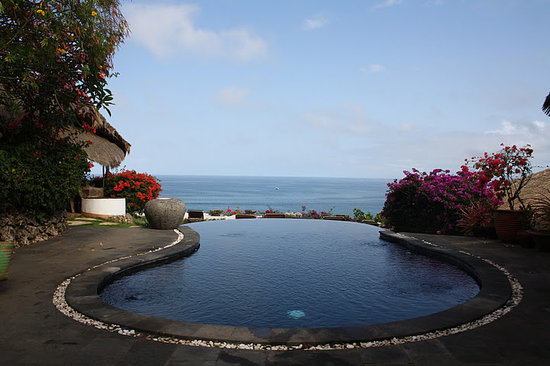 The Temple Lodge: the amazing pool