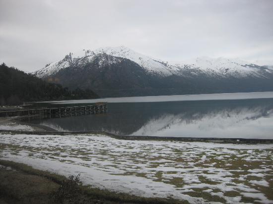 Hosteria El Retorno: A vista para o lago...