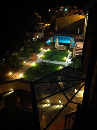 UNA Palazzo Mannaioni: vue de la chambre