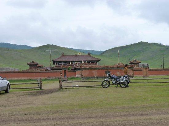 Mongolia: Temple Entrance