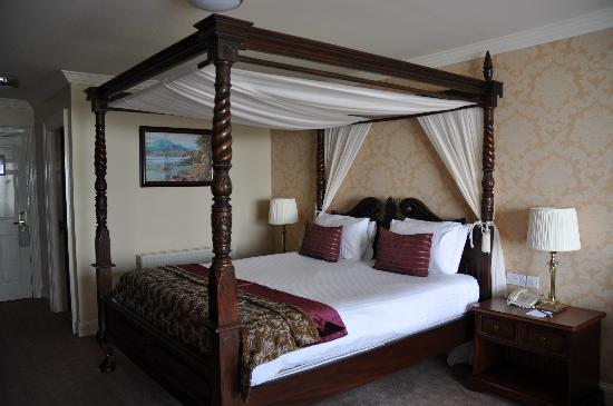The Castlecourt Hotel: Deluxe room