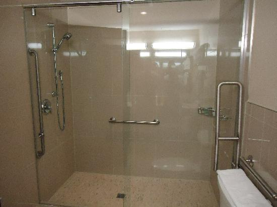 Comfort Hotel Bayer's Lake : Executive Suite...Very Spacious Shower! Love It!