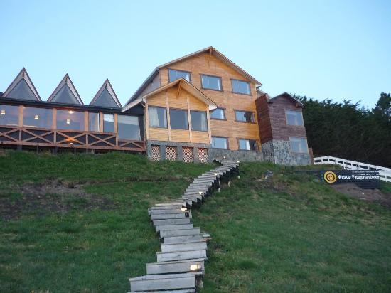 Weskar Patagonian Lodge: vista frontal