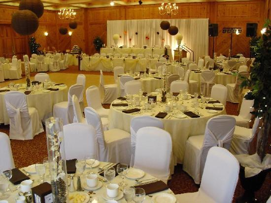 Pinestone Resort and Conference Centre: Wedding Reception