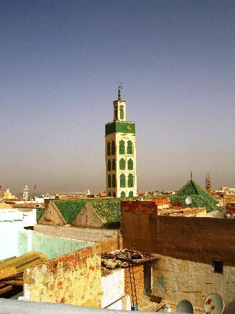 Riad Amazigh Meknes: View from the rooftop terrace