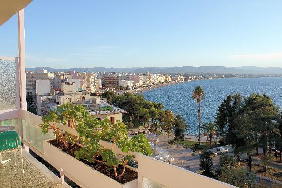 Hotel Park : Sea view balcony