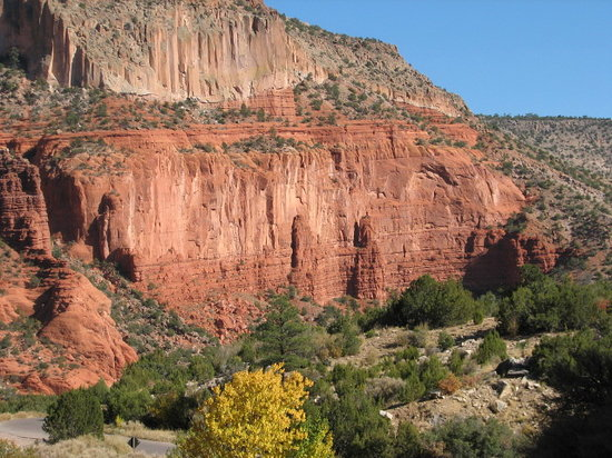 Jemez State Monument: Awesome Mountain Valley View
