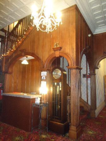 TripInn Hostel, YHA Westport: Reception