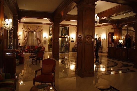Aldrovandi Villa Borghese: lobby/reception