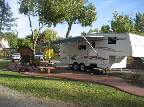 Billings KOA: our spot