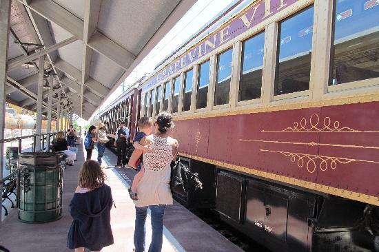 Grapevine Vintage Railroad: Grapevine train staion