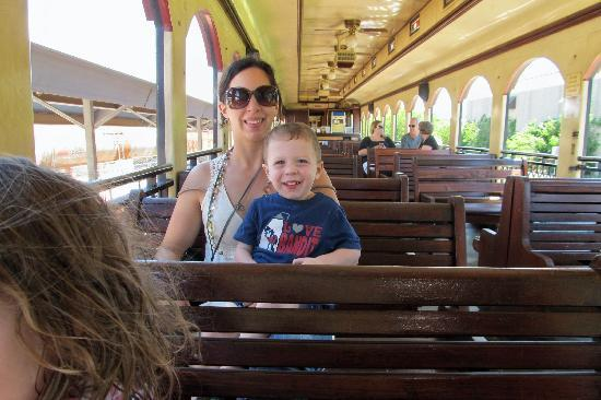 Grapevine Vintage Railroad: riding the train to Fort Worth
