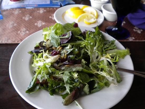 Cinderella's Royal Table: Salad appetizer