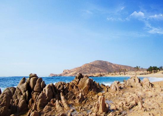 Chileno Beach: The beach cove