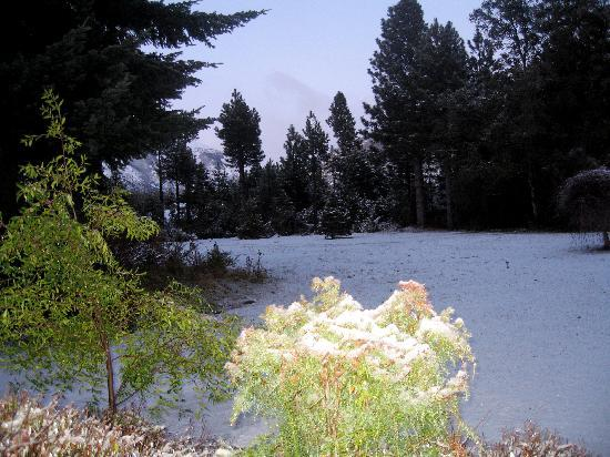 Posada del Angel: sus jardines