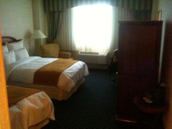 BWI Airport Marriott: Nice room