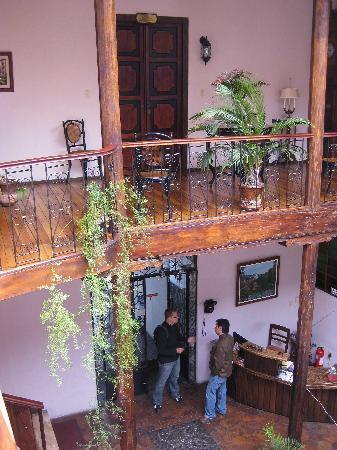 Inside Casa Ordonez