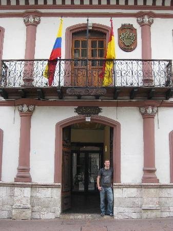 In front of Casa Ordonez