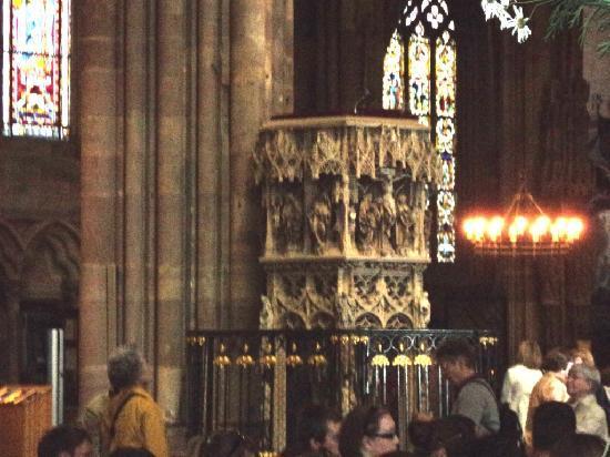 Notre Dame de Strasbourg: púlpito