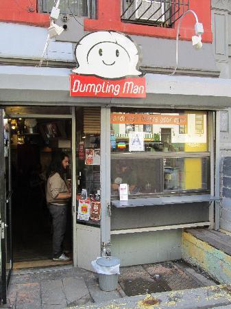 Smiley Dumpling Man!