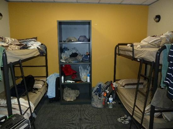 straight front view from the dorm door picture of the. Black Bedroom Furniture Sets. Home Design Ideas