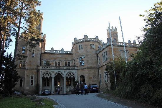 The Schloss Eckberg.. A real Castle