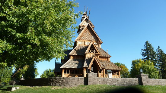 Minot, ND: Stave Church