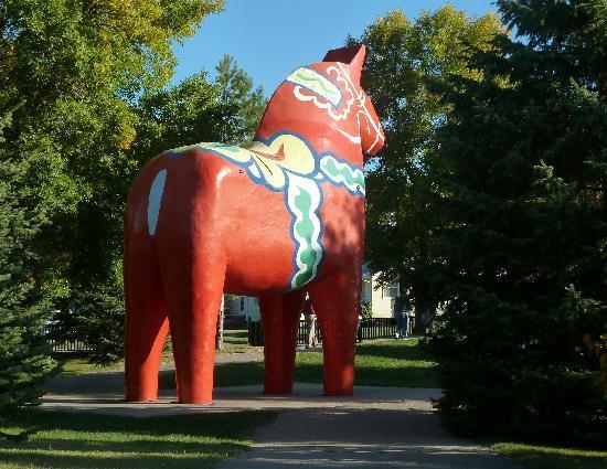 Minot, Dakota del Norte: Dala Horse