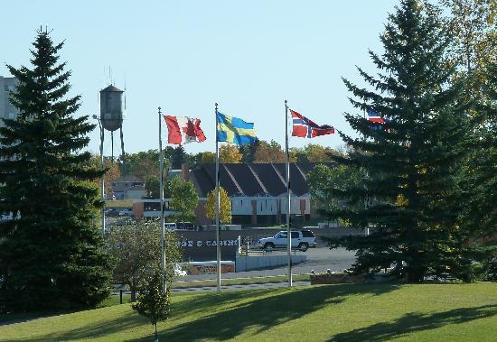 Minot, ND: All the Scandinavian Flags