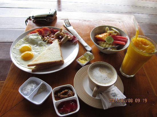 เตกัล ซาริ: breakfast set A