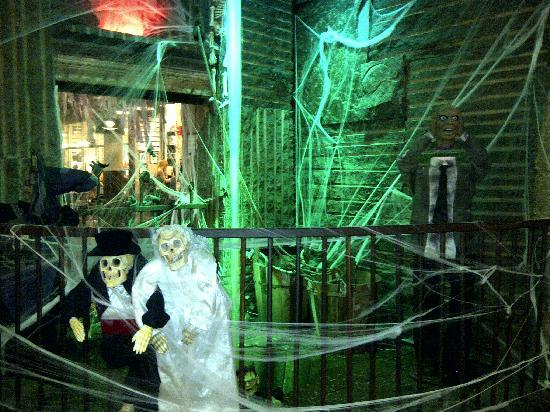 Chelsea Market: Halloween decoration