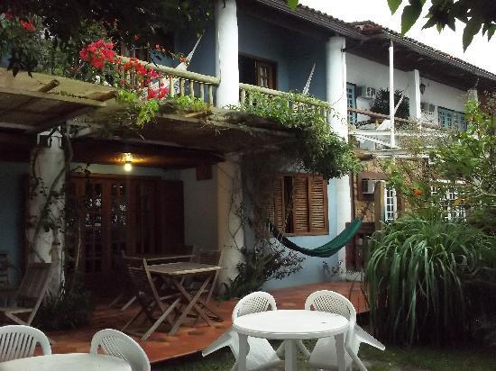 Pousada Manaca Inn: Vista frente