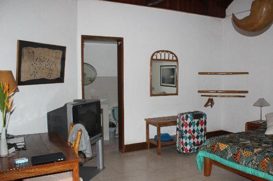 Mango-Ray Resort: the room