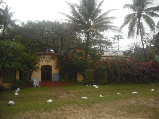 Natadola Beach Resort: the resort