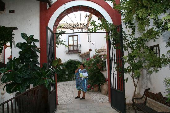 Hacienda Minerva: Patio